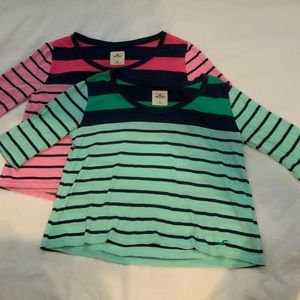 Hollister shirt bundle